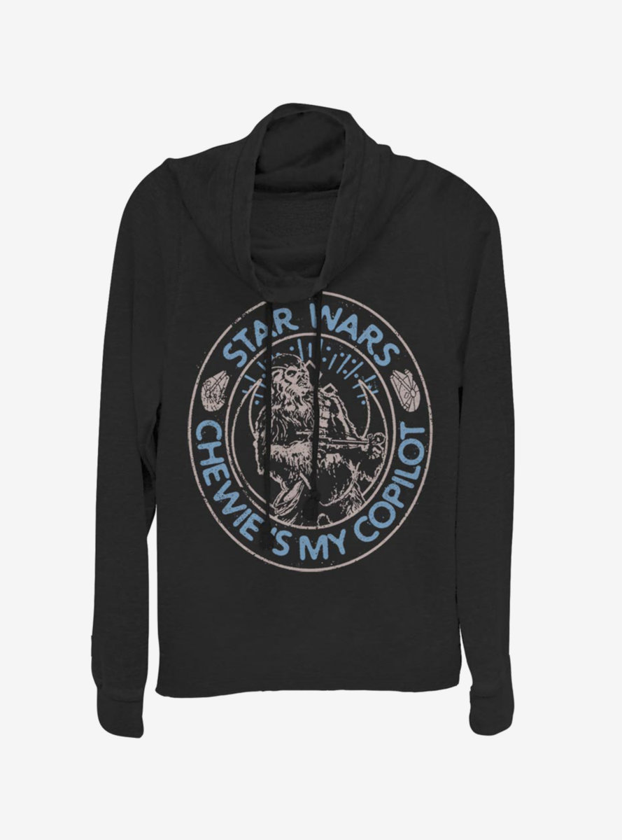 Star Wars Episode IX The Rise Of Skywalker Way of the Wookiee Cowlneck Long-Sleeve Womens Top