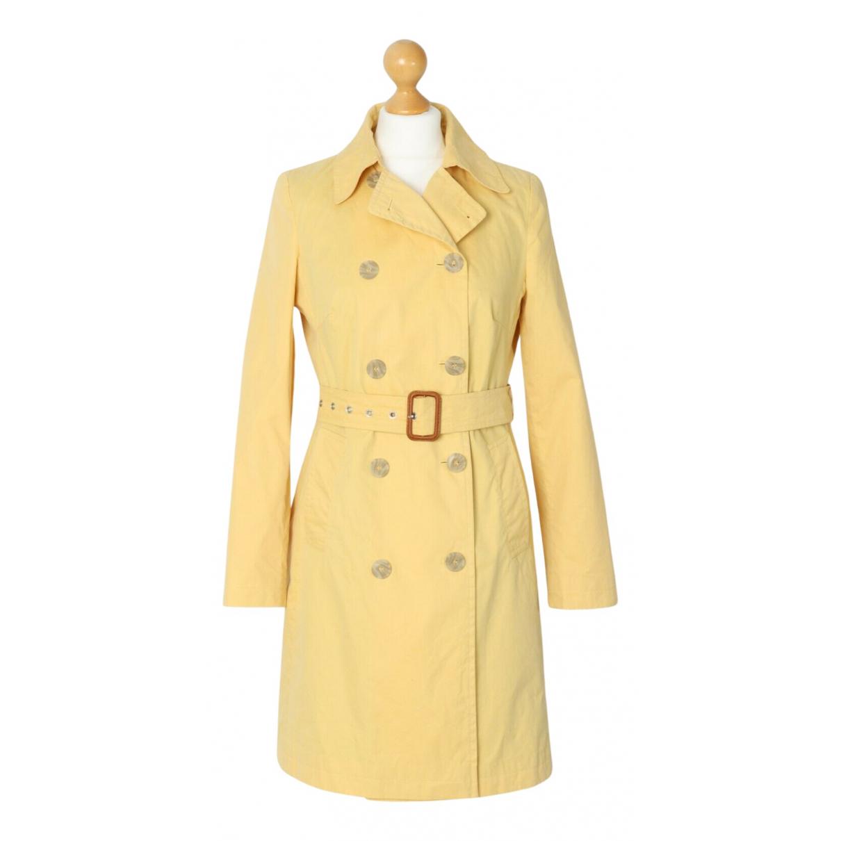 Boden \N Yellow Cotton coat for Women 10 UK