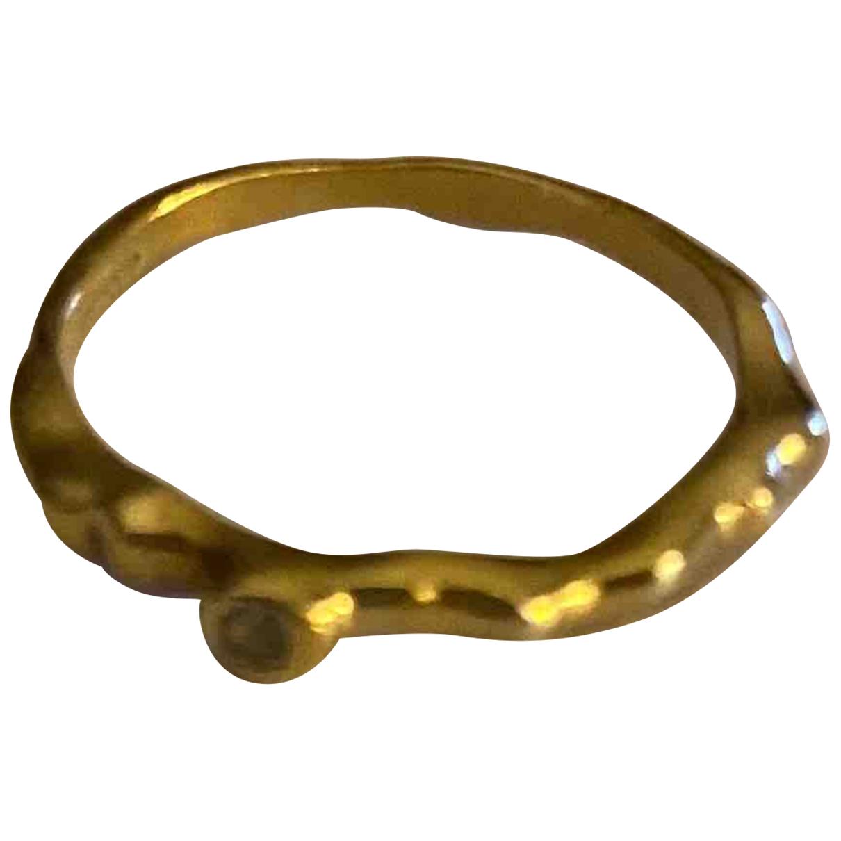 Monica Vinader - Bague   pour femme en plaque or - dore
