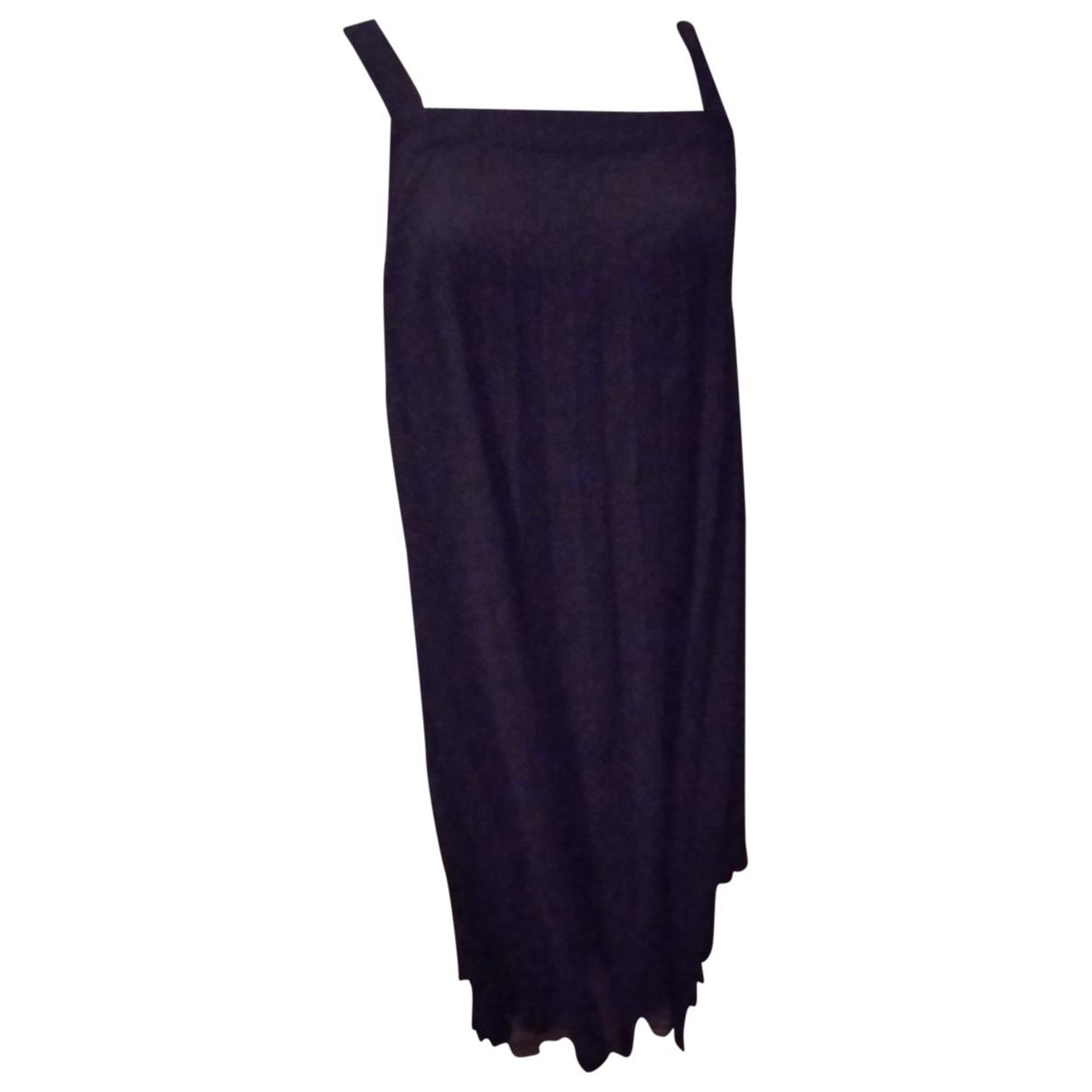 Zapa \N Kleid in  Schwarz Viskose
