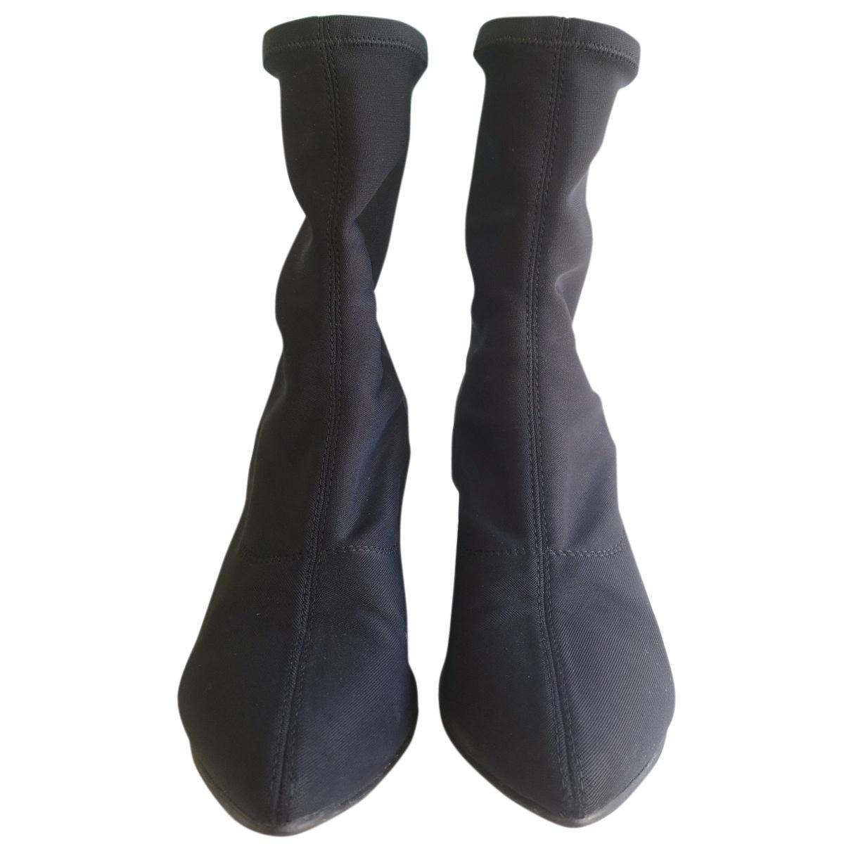 Vagabond - Boots   pour femme - noir