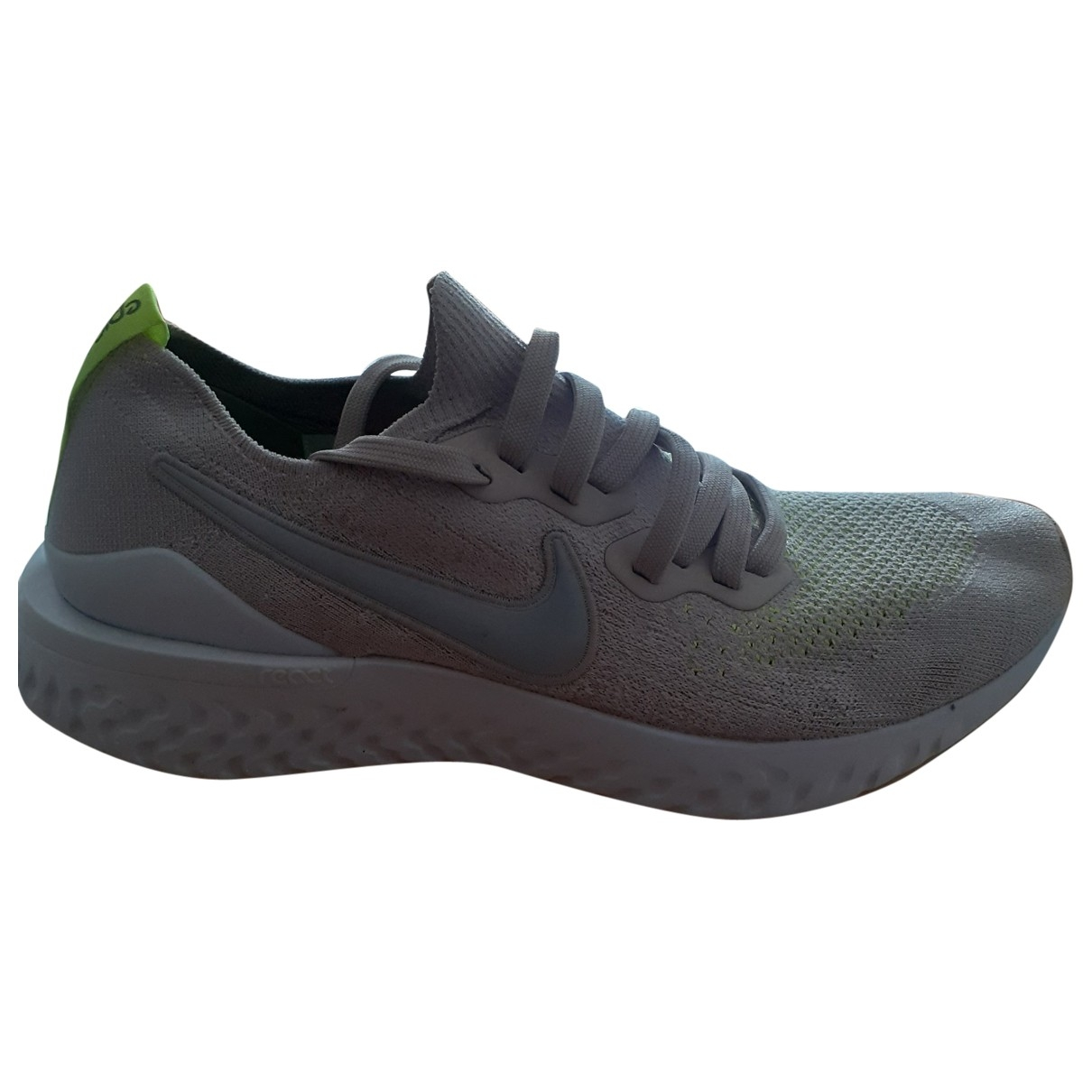 Nike Epic React Beige Cloth Trainers for Men 8.5 UK