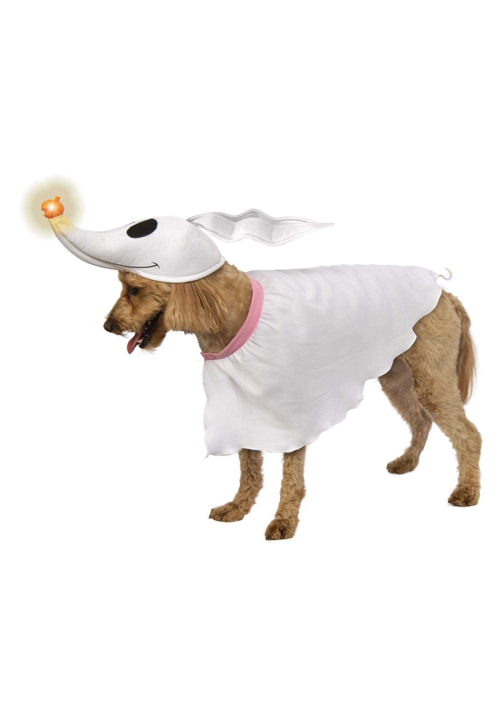The Nightmare Before Christmas Zero Dog Costume with Light