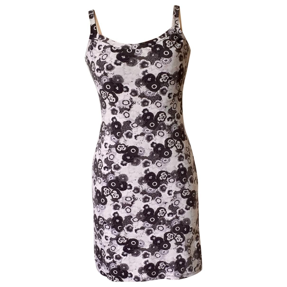 Kenzo \N Kleid in  Grau Polyester