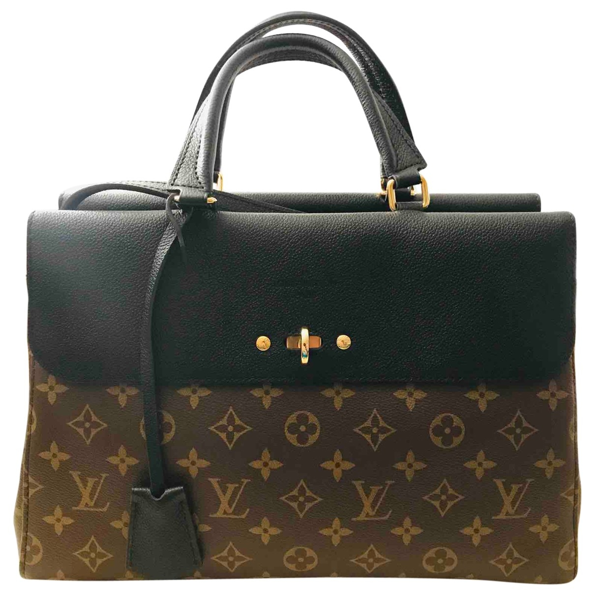 Louis Vuitton Vénus Black Cloth handbag for Women \N