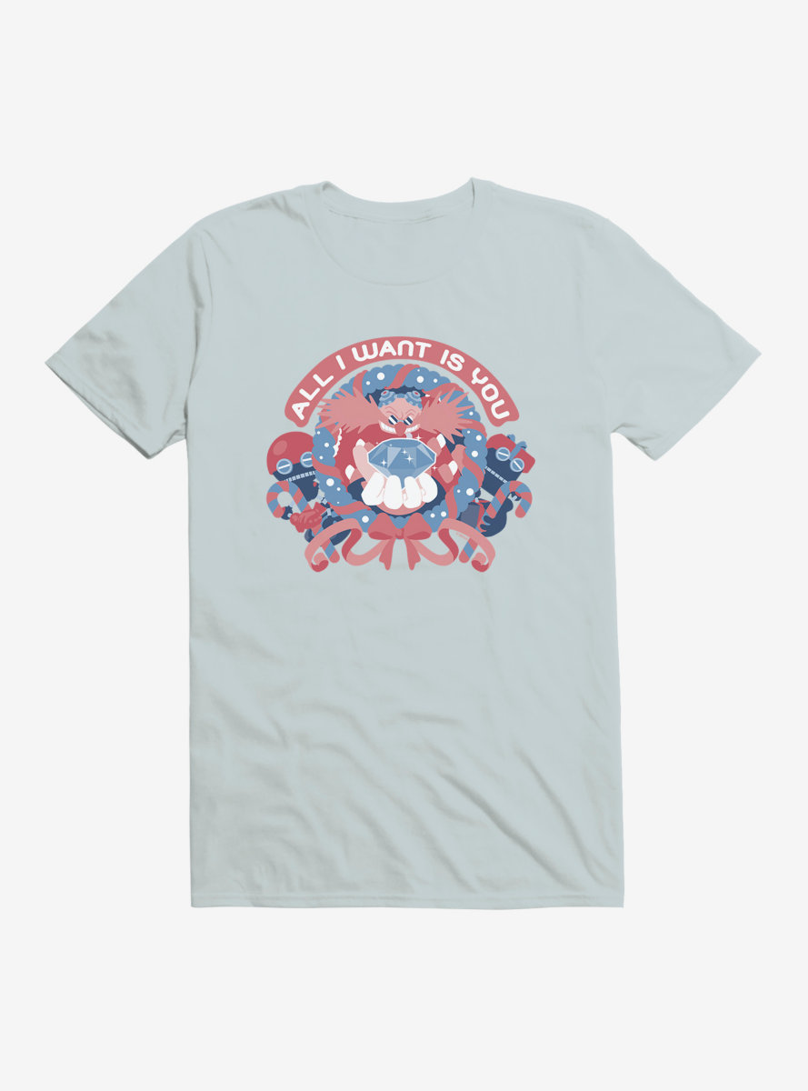 Sonic The Hedgehog Winter All I Want T-Shirt
