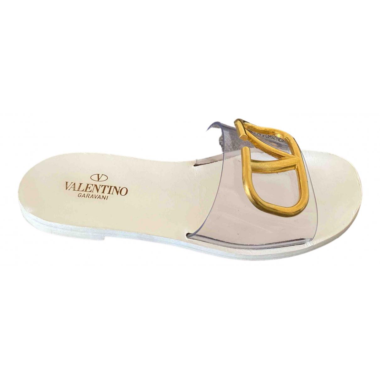 Valentino Garavani - Sandales VLogo pour femme - blanc