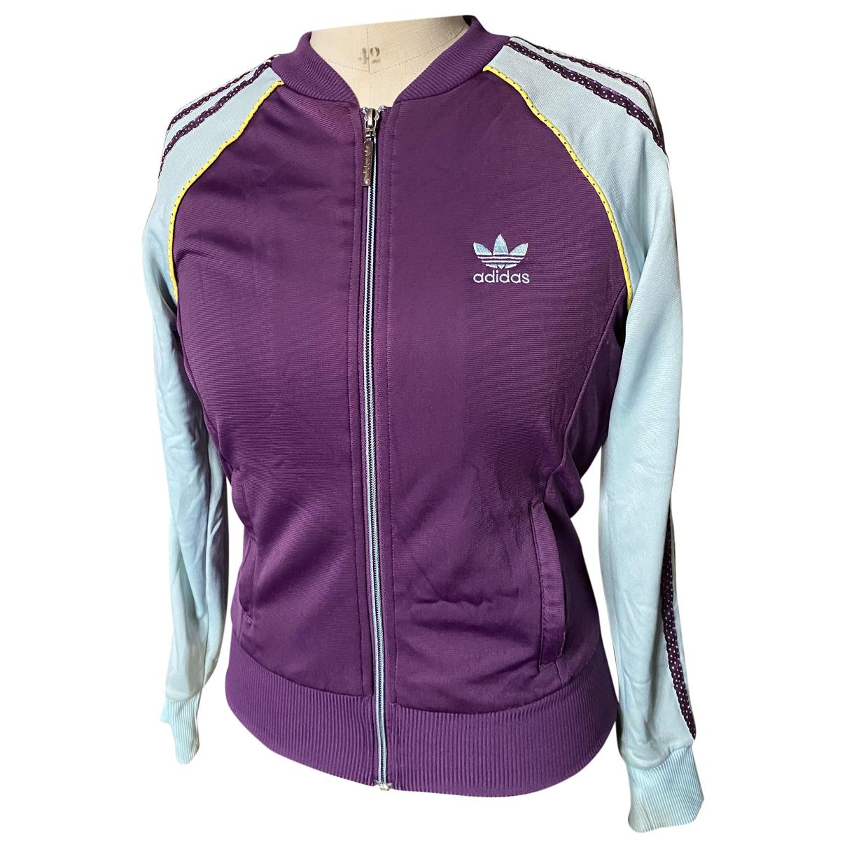 Adidas N Purple jacket for Women 38 FR
