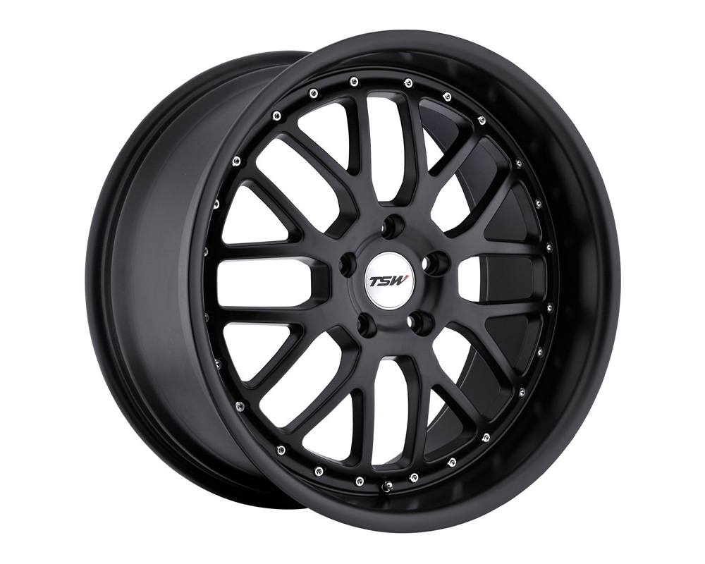 TSW Valencia Wheel 17x8 5x112 32mm Matte Black