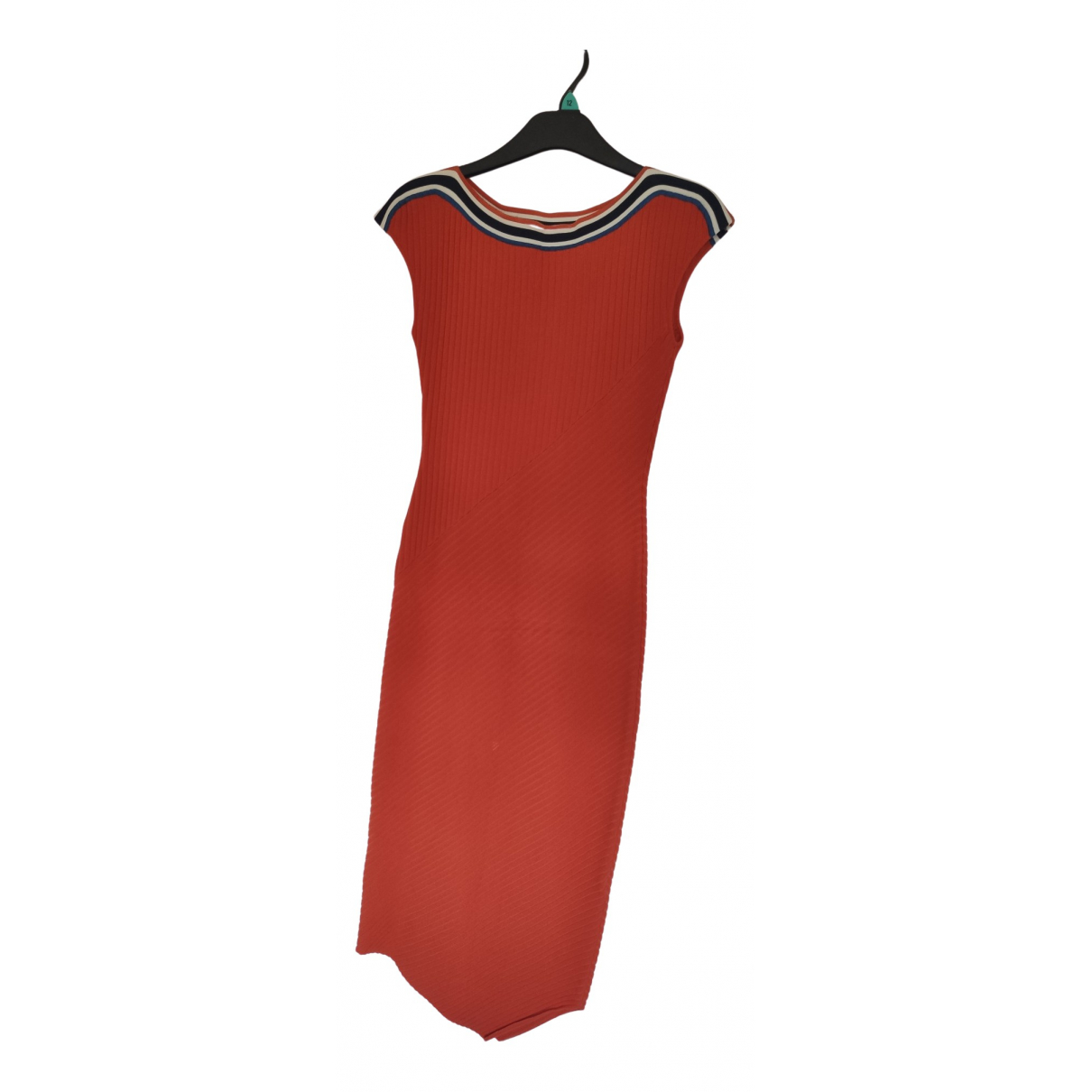 Karen Millen \N Kleid in  Orange Viskose