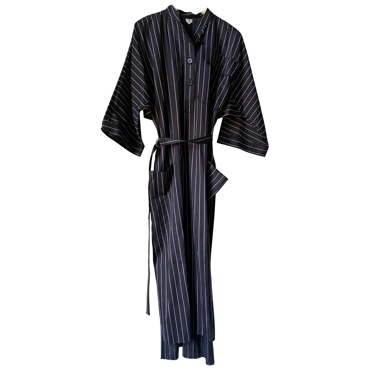 Arket N Navy Cotton dress for Women 34 FR