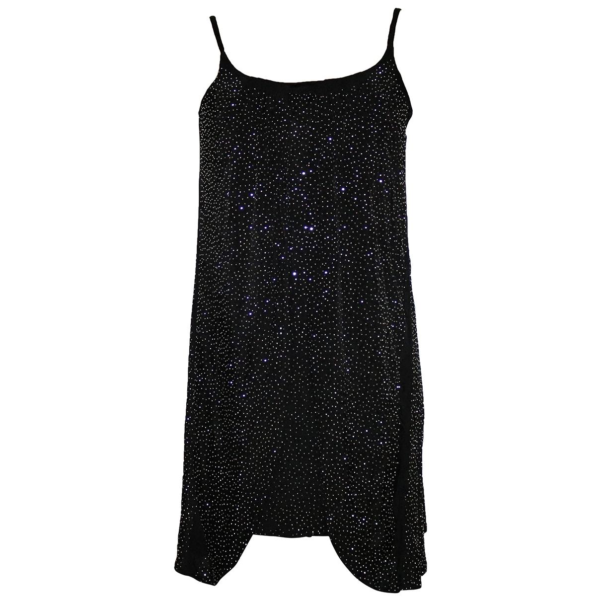 Versace X H&m \N Kleid in  Schwarz Viskose