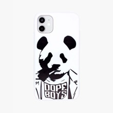 Panda Print iPhone Case