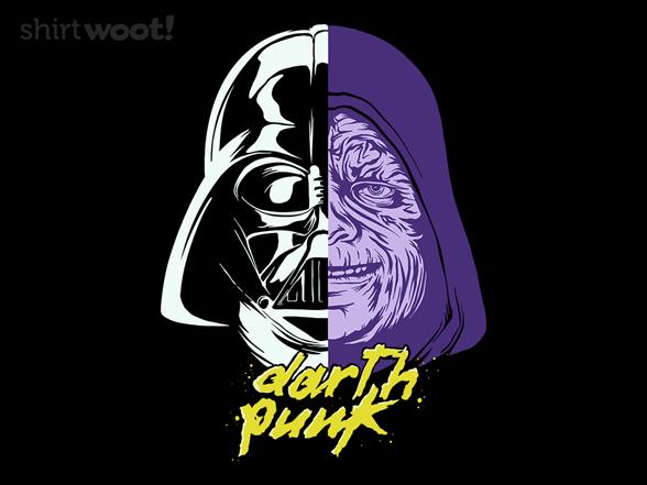 Darth Punk T Shirt