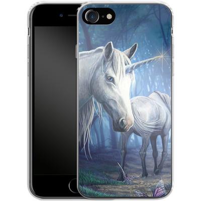Apple iPhone 8 Silikon Handyhuelle - Follow Me von Lisa Parker