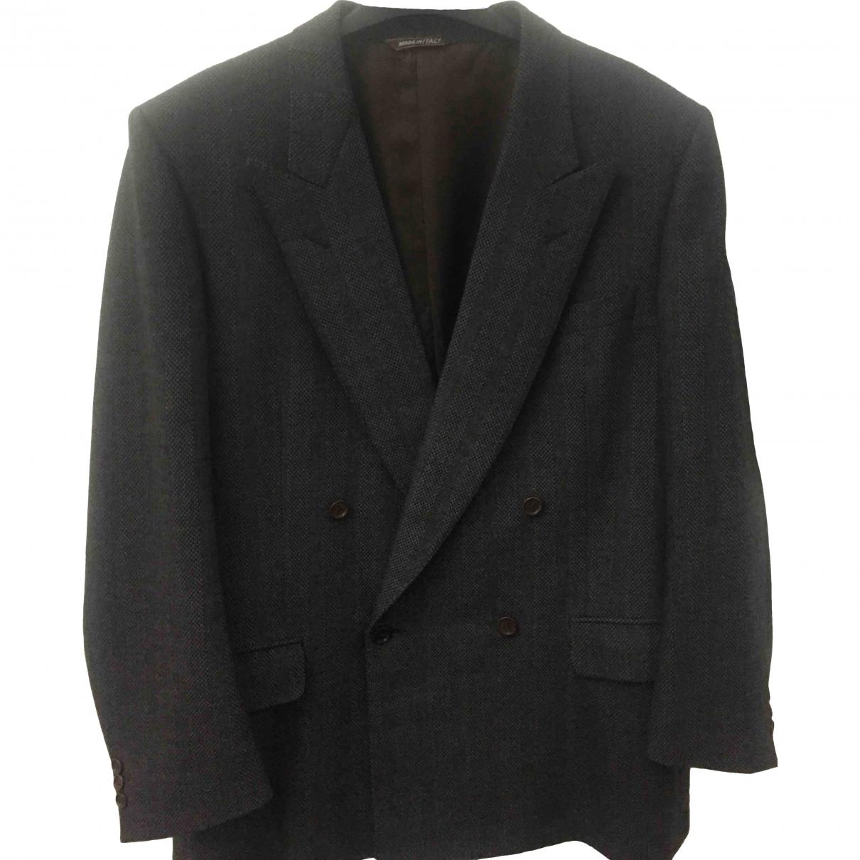 Lanvin \N Grey Wool jacket  for Men XXL International