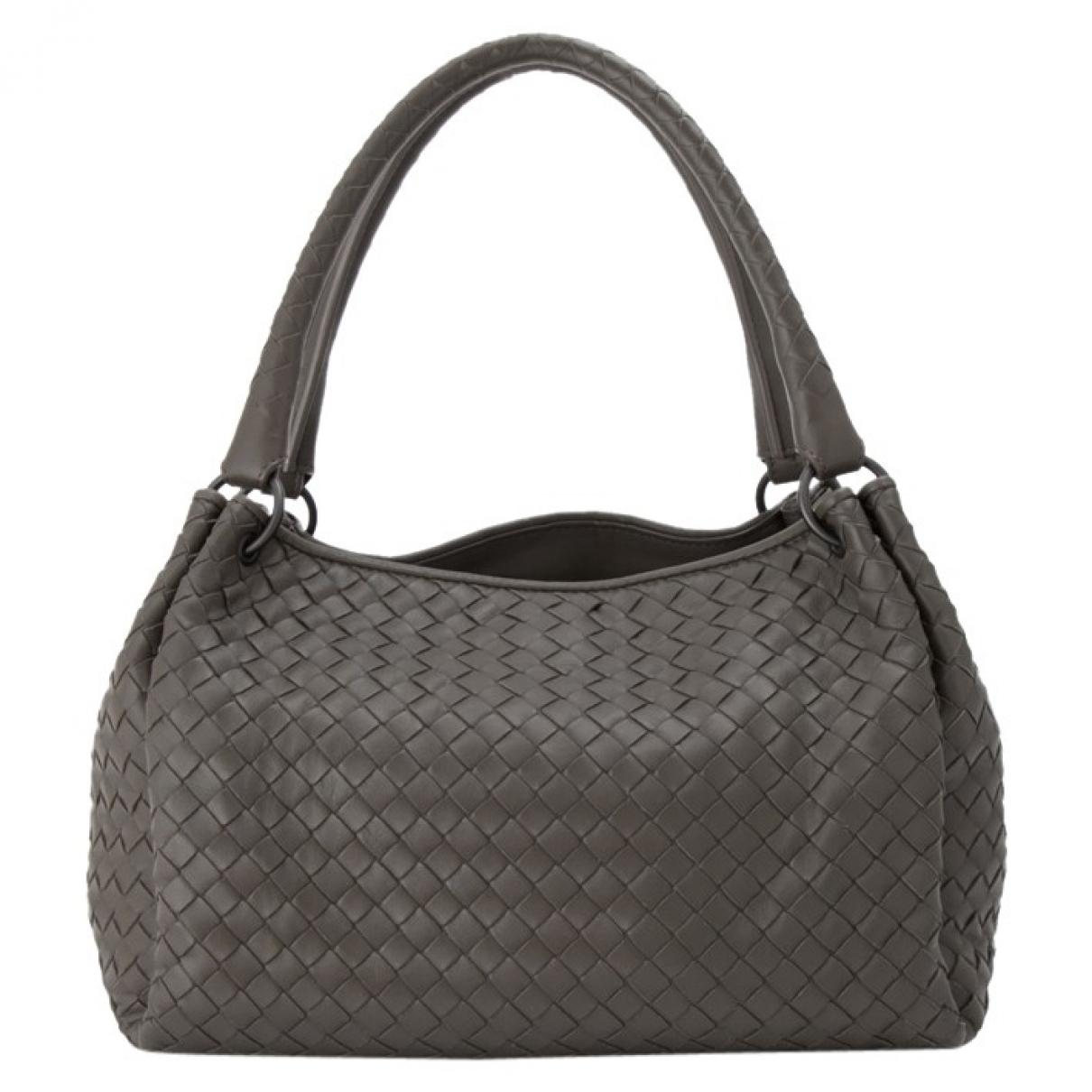 Bottega Veneta \N Grey Leather handbag for Women \N