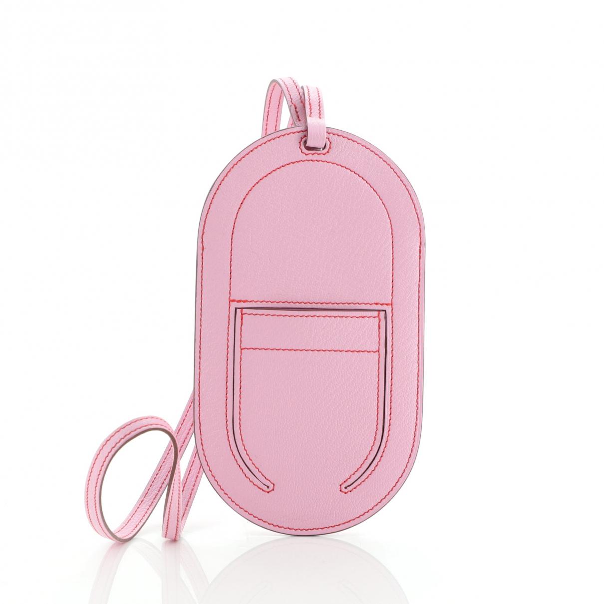 Hermes - Accessoires   pour lifestyle en cuir - rose