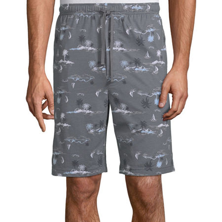 Stafford Pajama Shorts, Medium Tall , Gray
