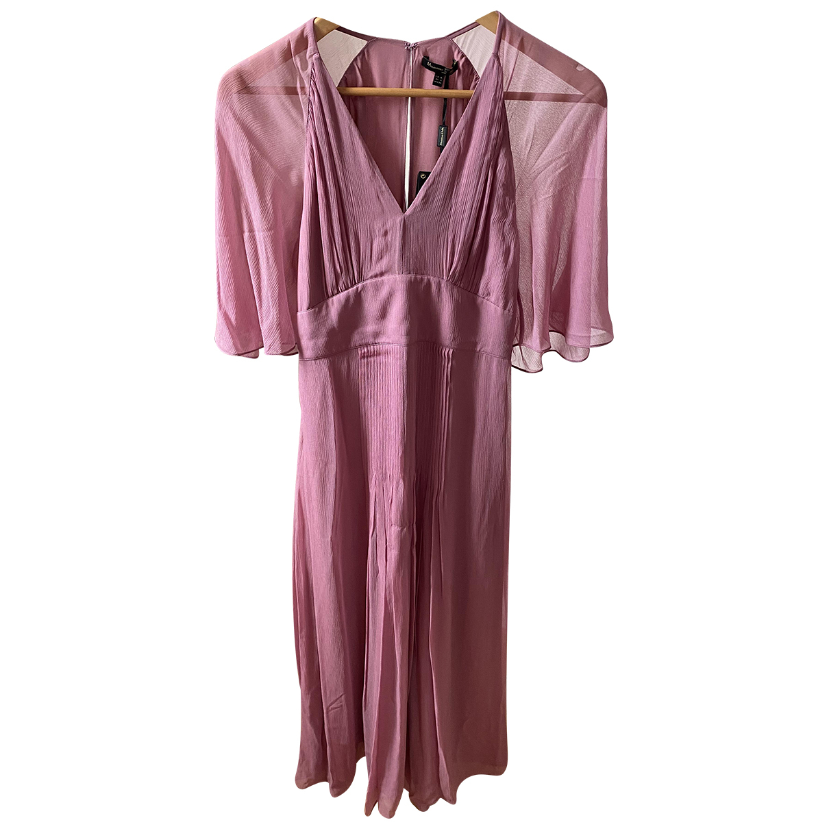 Massimo Dutti \N Kleid in  Lila Viskose