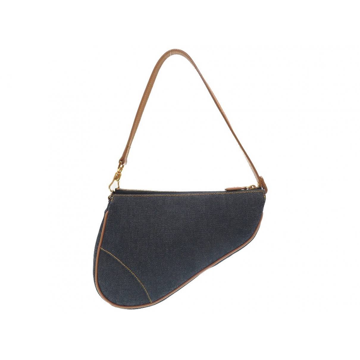 Bolsos clutch Saddle en Denim - Vaquero Azul Dior