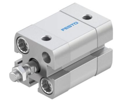 Festo Pneumatic Cylinder 25mm Bore, 5mm Stroke, ADN Series, Double Acting