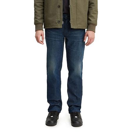 Levi's Mens 514 Straight Fit Straight Leg Jean, 33 34, Blue