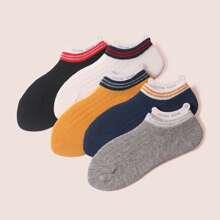 5 Paare Kinder Socken mit Streifen