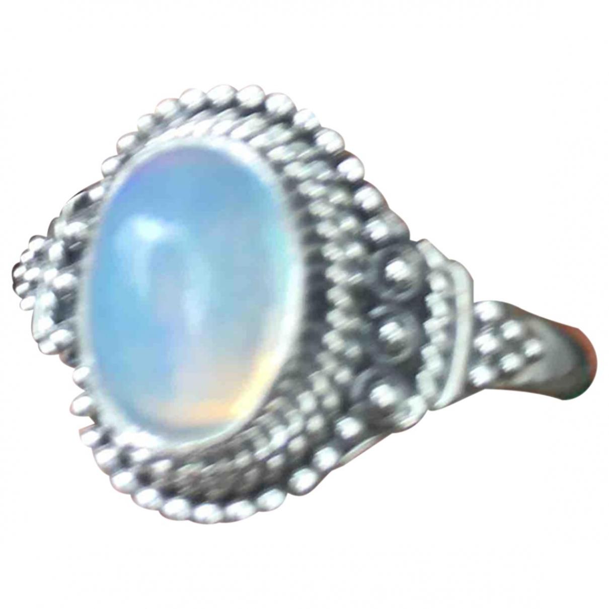 - Bague Opale pour femme en argent - multicolore