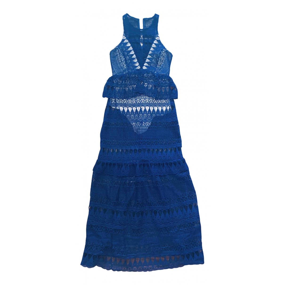 Self Portrait \N Blue dress for Women 6 UK