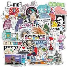 50pcs Science Laboratory Graffiti Sticker