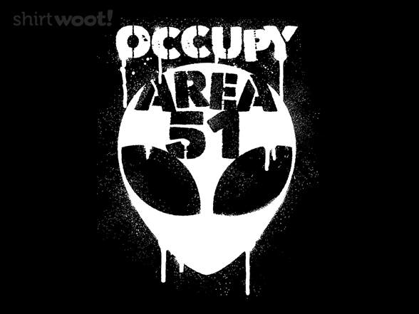 Occupy Area 51 T Shirt