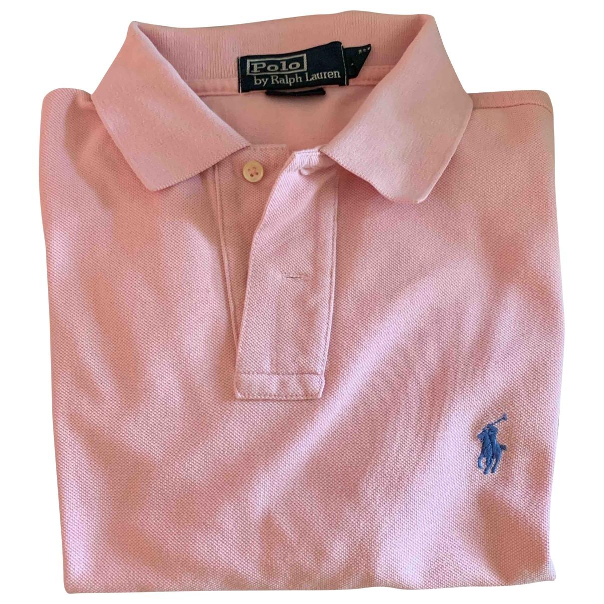Polo Ralph Lauren \N Pink Cotton Polo shirts for Men M International