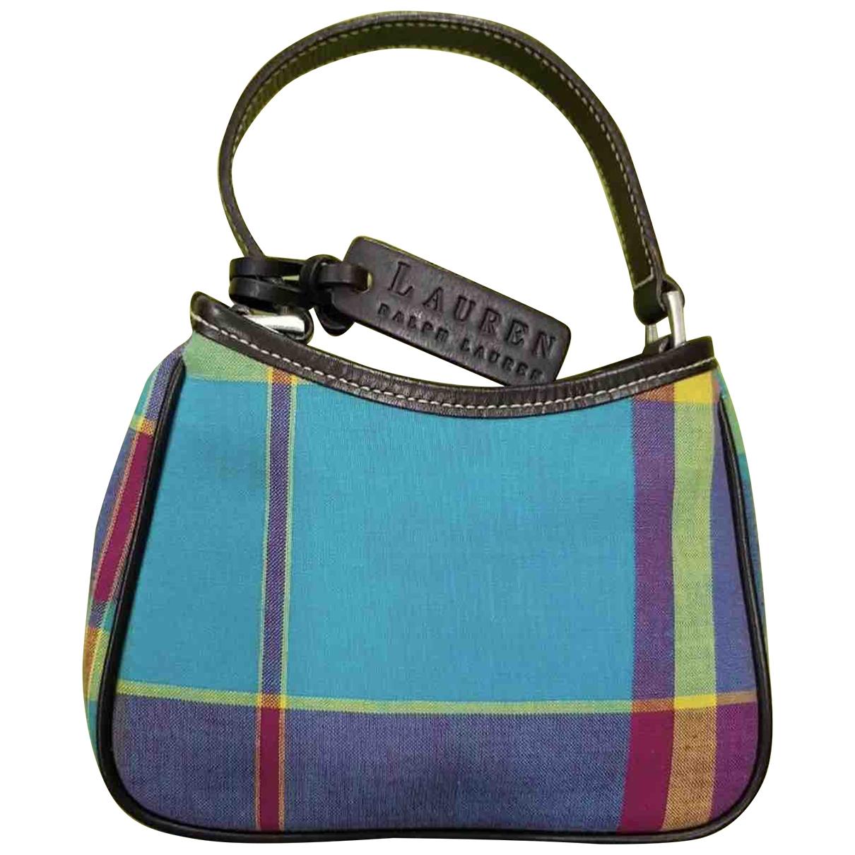 Lauren Ralph Lauren \N Handtasche in  Bunt Leinen