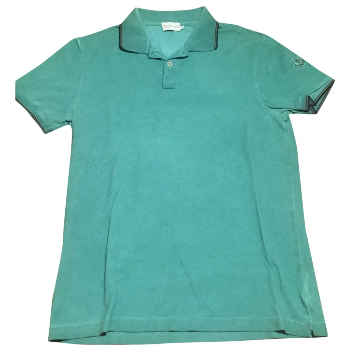 Moncler \N Poloshirts in  Gruen Baumwolle