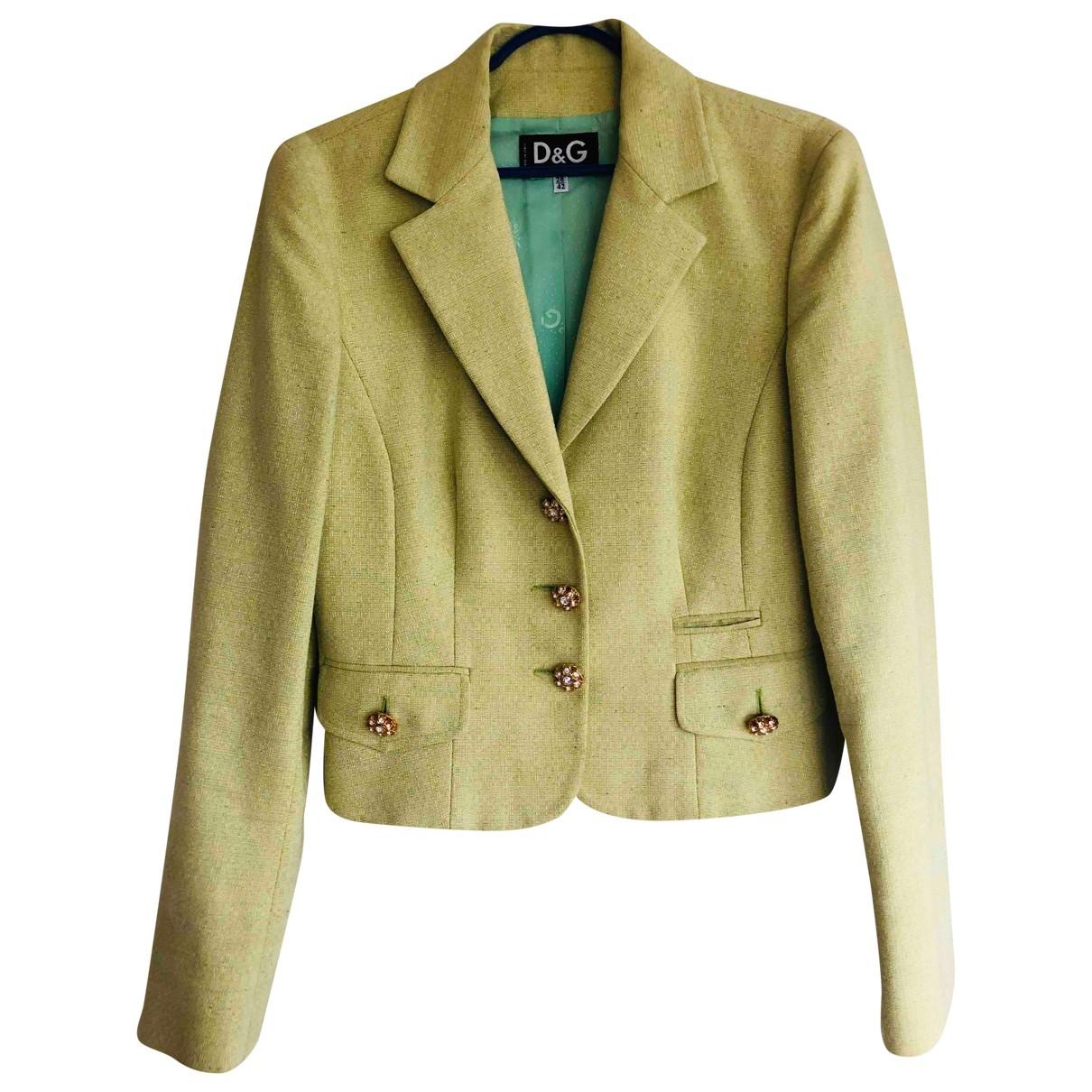 D&g - Veste   pour femme en coton - vert