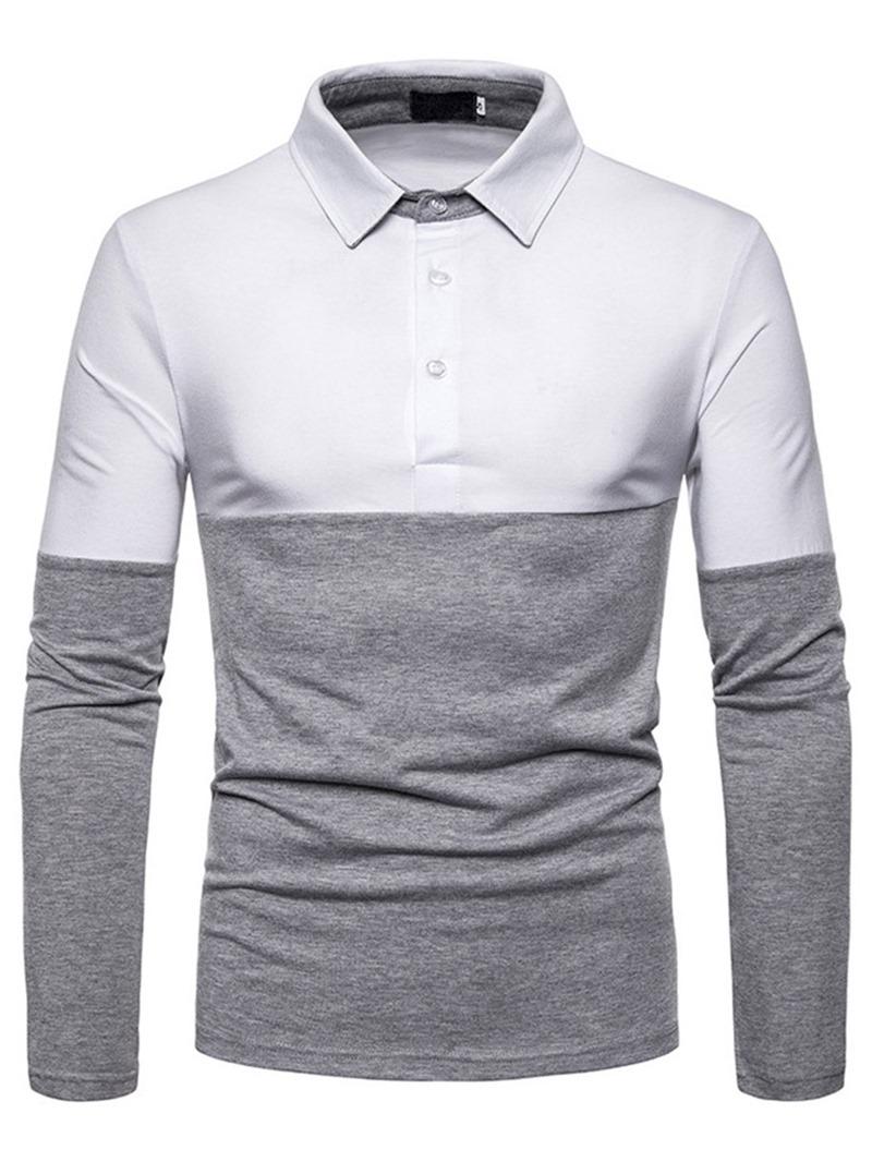 Ericdress Button Men's Casual Polo Shirt