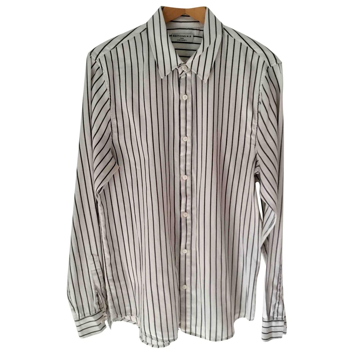 Editions M.r - Chemises   pour homme en coton - ecru