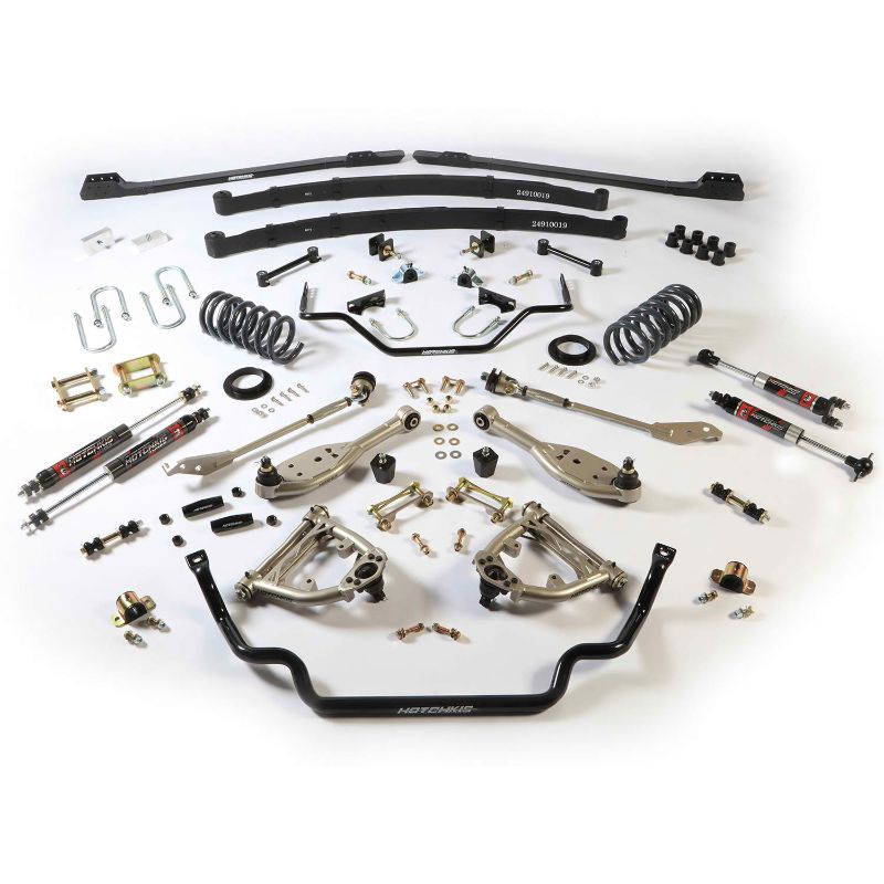 Hotchkis 80041-2 Stage 2 TVS Suspension System, Small Block Ford Mustang 1967-1970