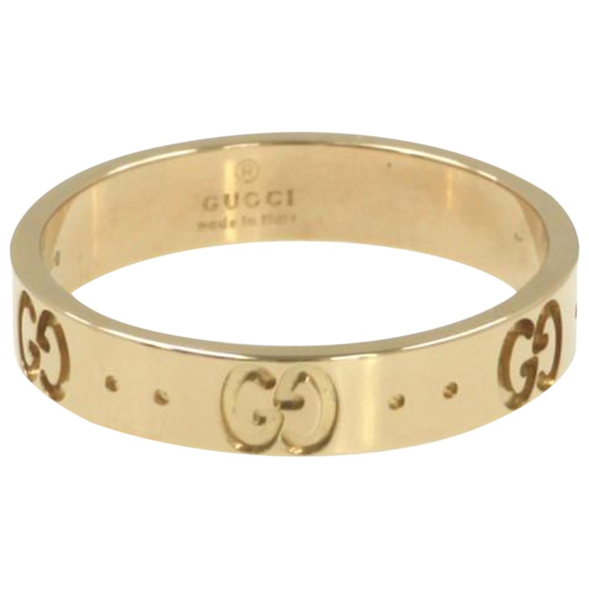 Gucci - Bague   pour femme en or rose