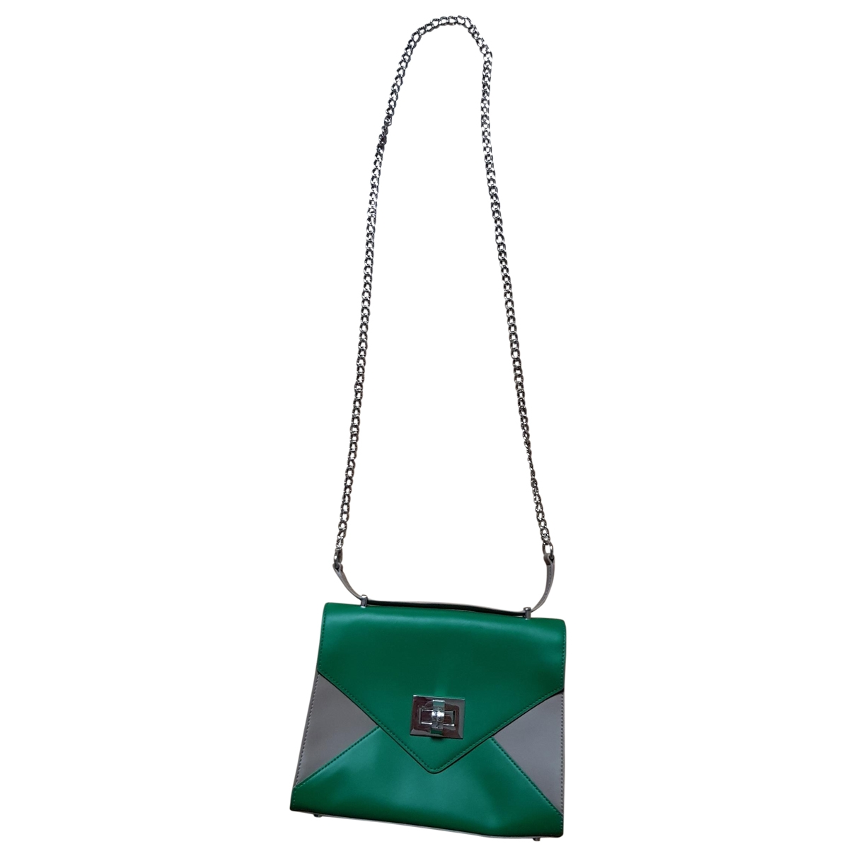 Twin Set \N Green Leather handbag for Women \N