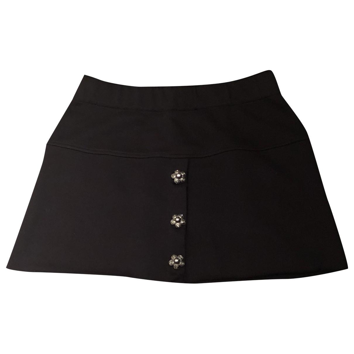 Dolce & Gabbana \N Rocke in  Schwarz Baumwolle