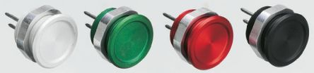 Schurter Red Solder Piezo Switch, , IP67, 100 mA, -20 → +60°C