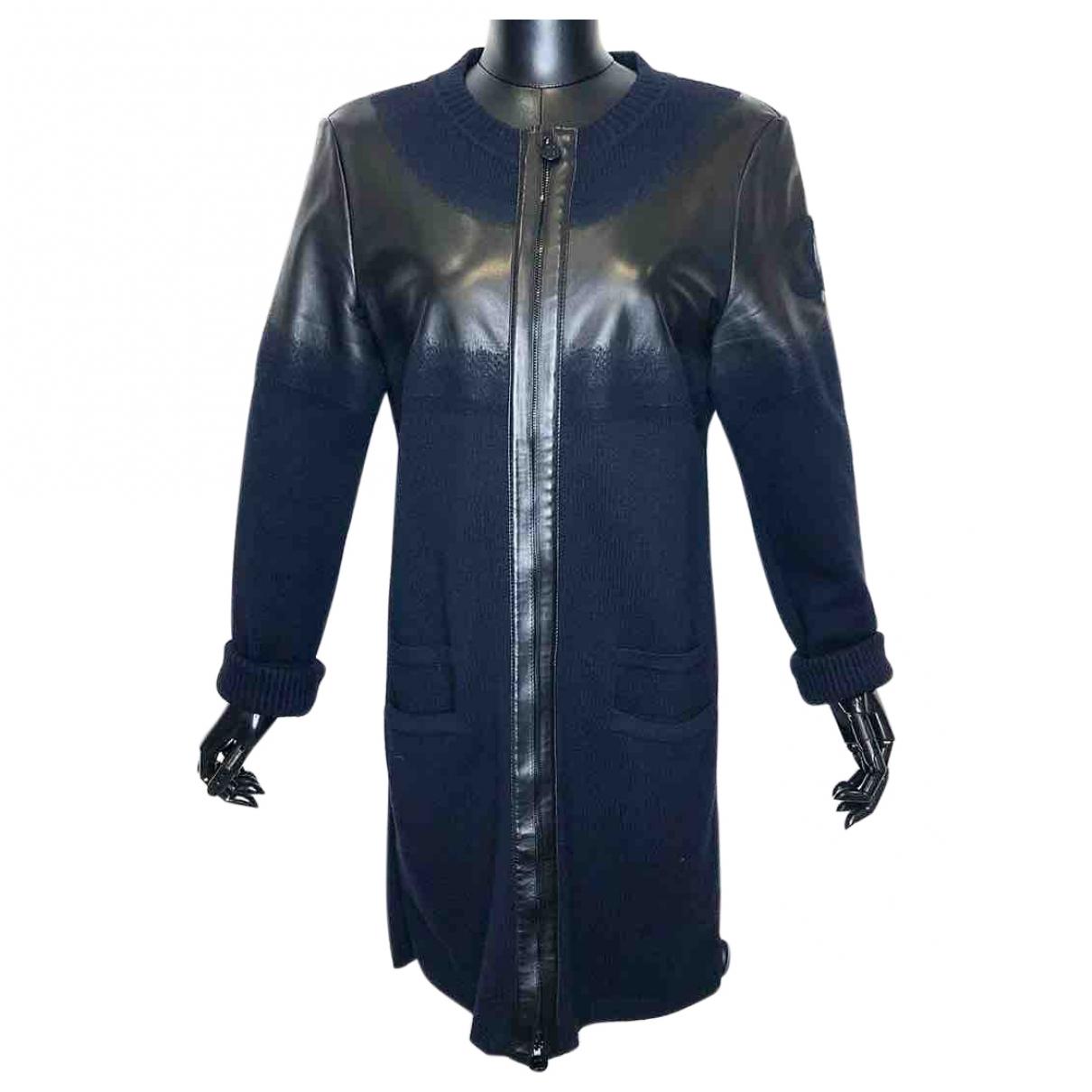 Chanel \N Navy Wool coat for Women 42 FR