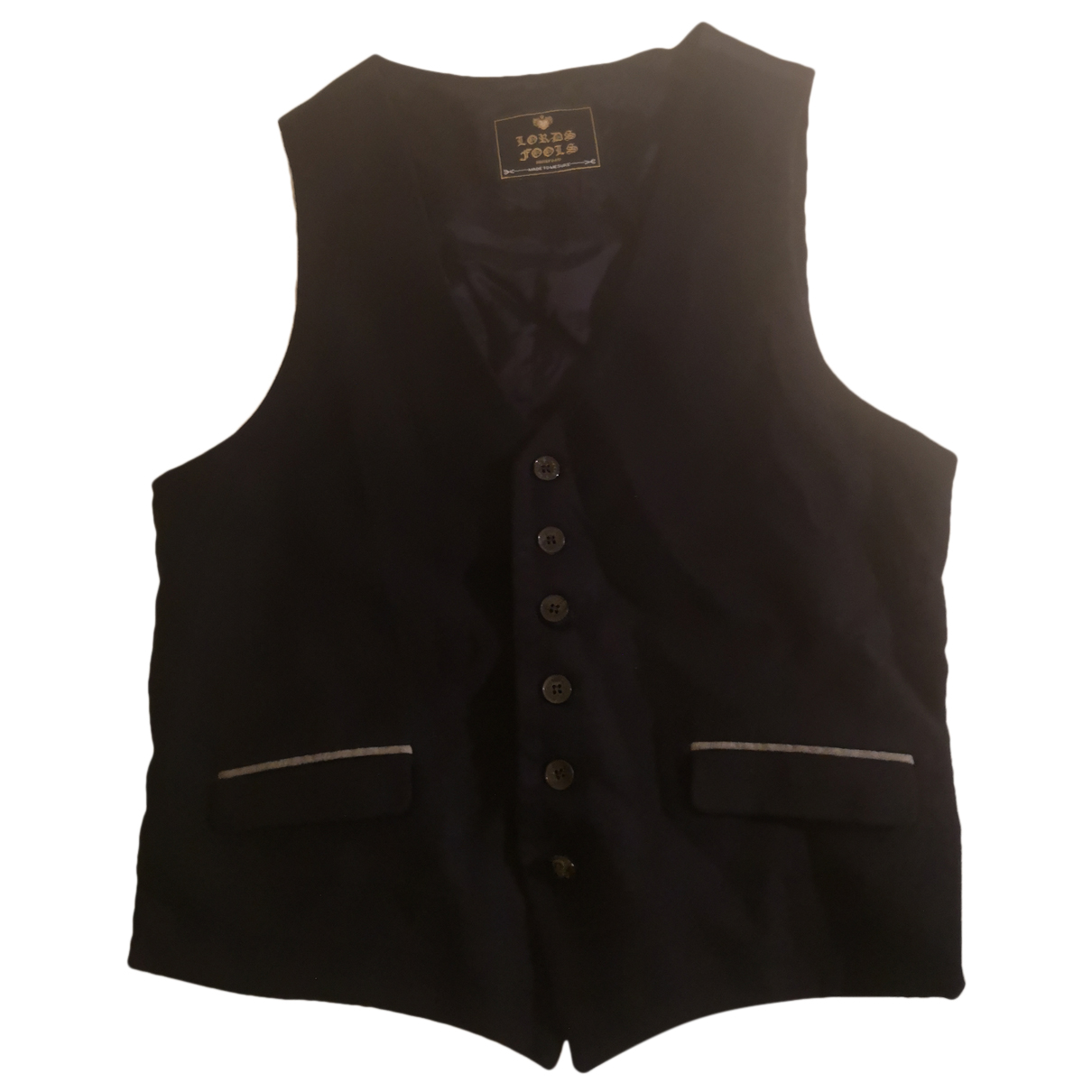 Lords & Fools N Navy Wool Knitwear & Sweatshirts for Men 48 FR