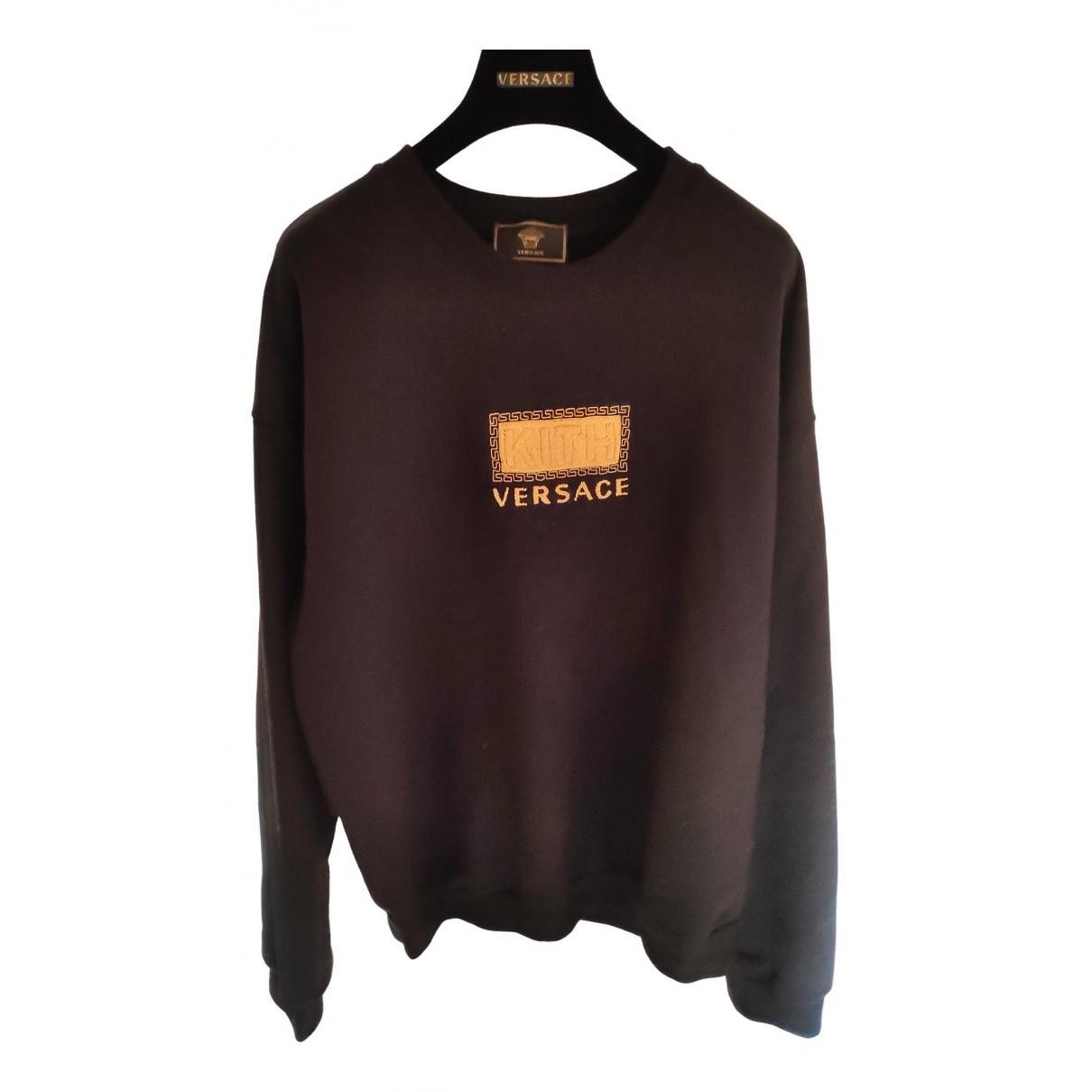 Versace \N Pullover.Westen.Sweatshirts  Schwarz