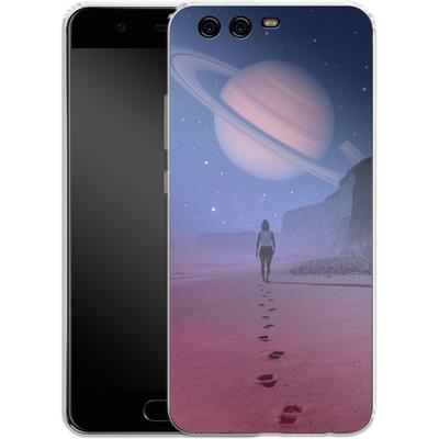 Huawei P10 Silikon Handyhuelle - Glimpse of a Dream Wide von Enkel Dika
