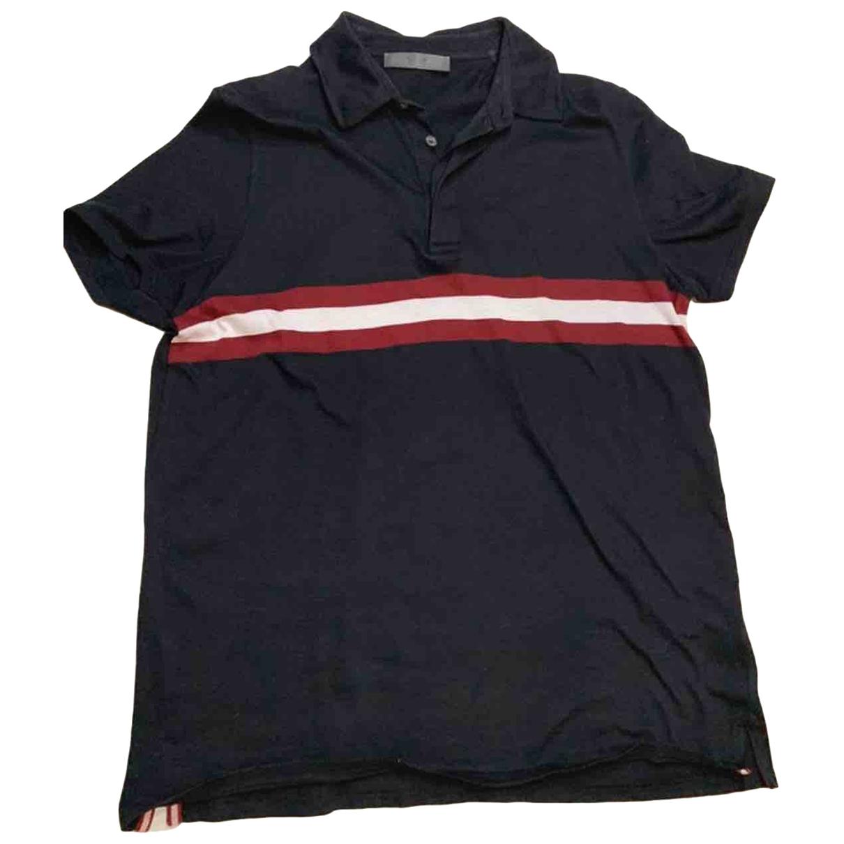 Bally - Tee shirts   pour homme en coton - noir