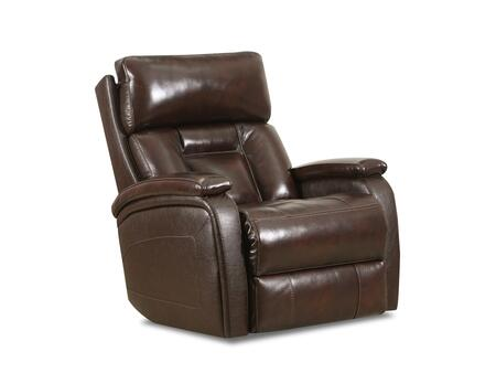 Supervalue Collection 4233P2-19SUPERVALUECHESTNUT Powered Rocker Recliner with Powered Headrest  Steel Recliner Mechanism  Made in USA  Double Padded