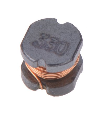 Bourns , SDR0302, E12 Wire-wound SMD Inductor with a Ferrite DR Core, 33 μH Wire-Wound 420mA Idc Q:20 (10)